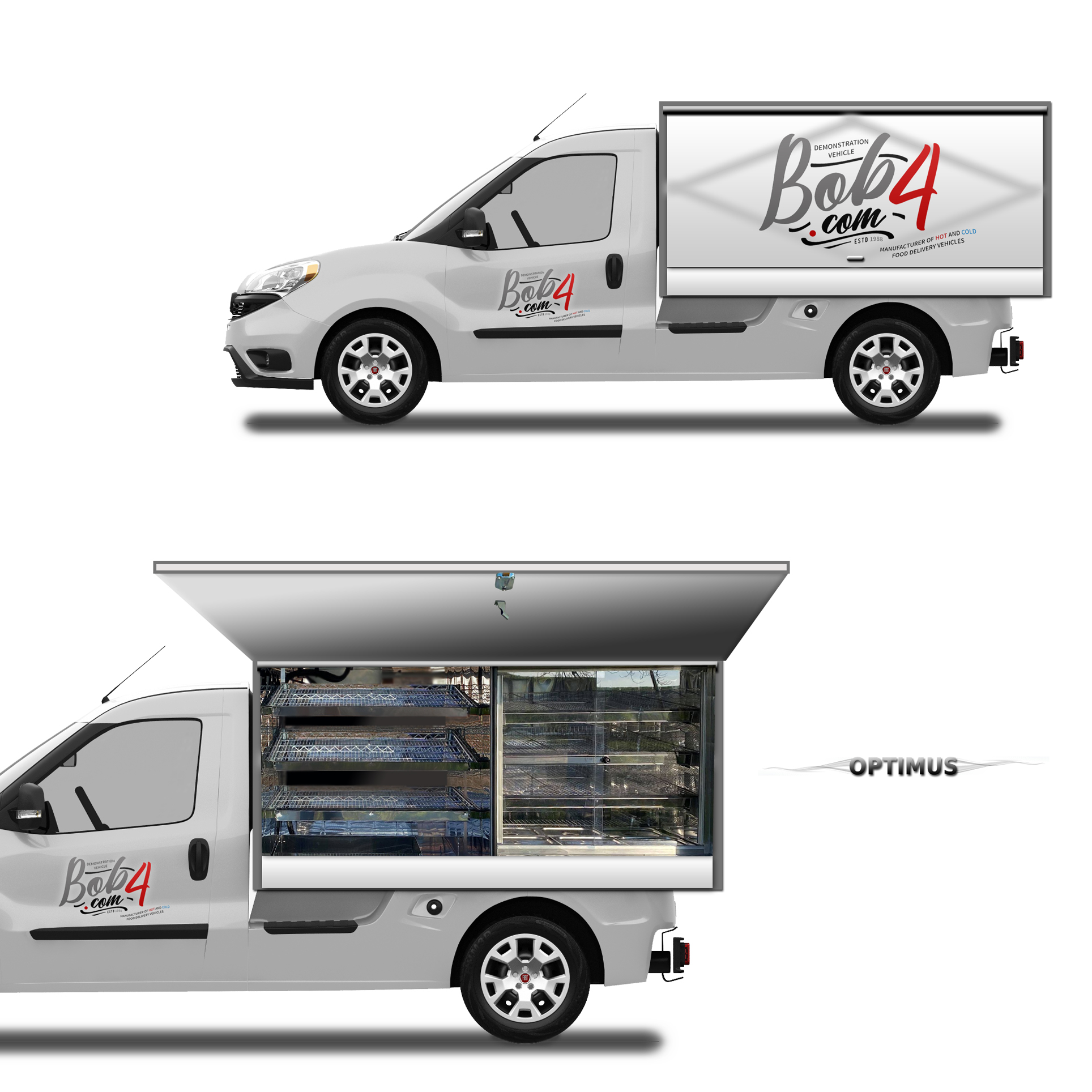 The Snaxi Primo Maxi - Hot and Cold Food Delivery Truck