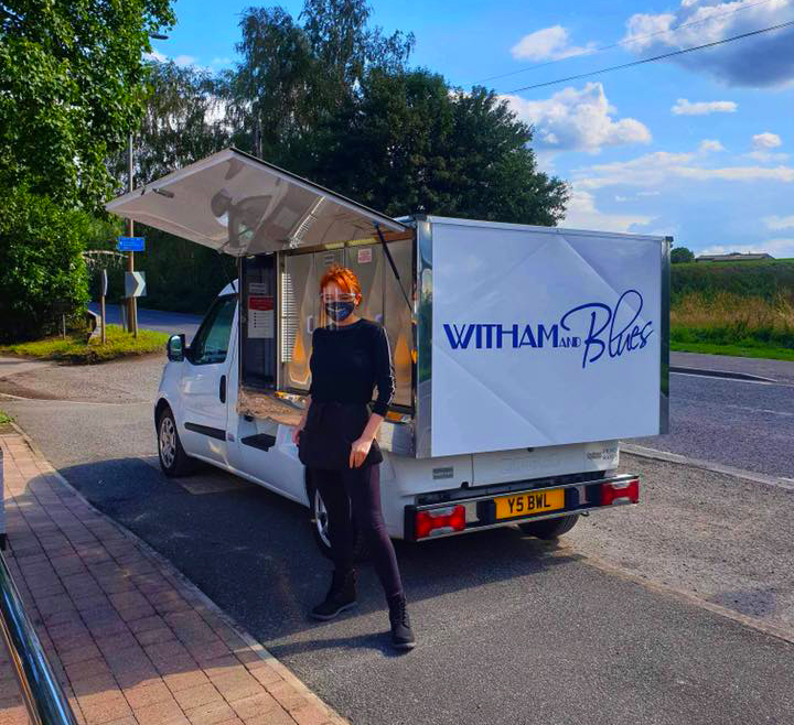 witham and blues delivery vehicle